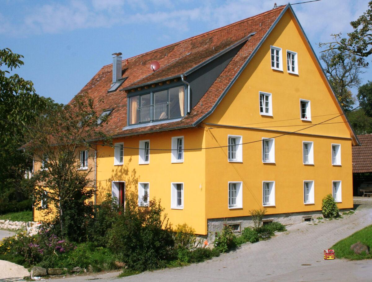 Bauernhaus mit den Ferienwohnungen
