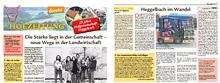 Hofzeitung zum 25 jährigen Jubiläum